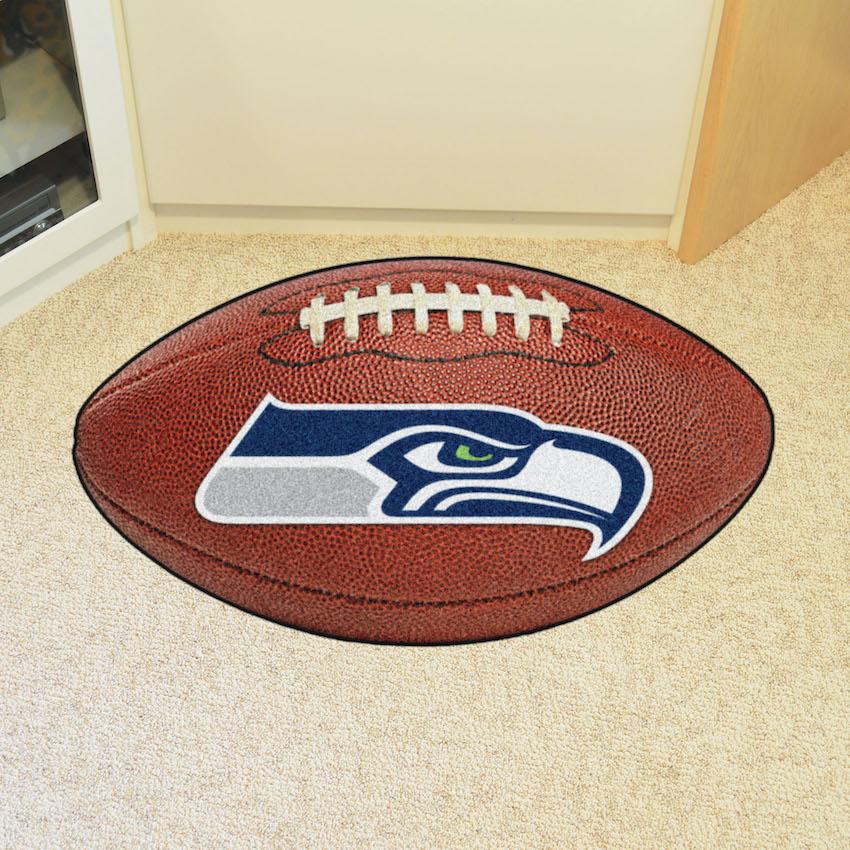 Seattle Seahawks Football Floor Mat