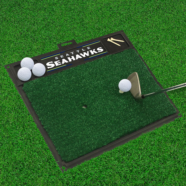 Seattle Seahawks Golf Hitting Mat