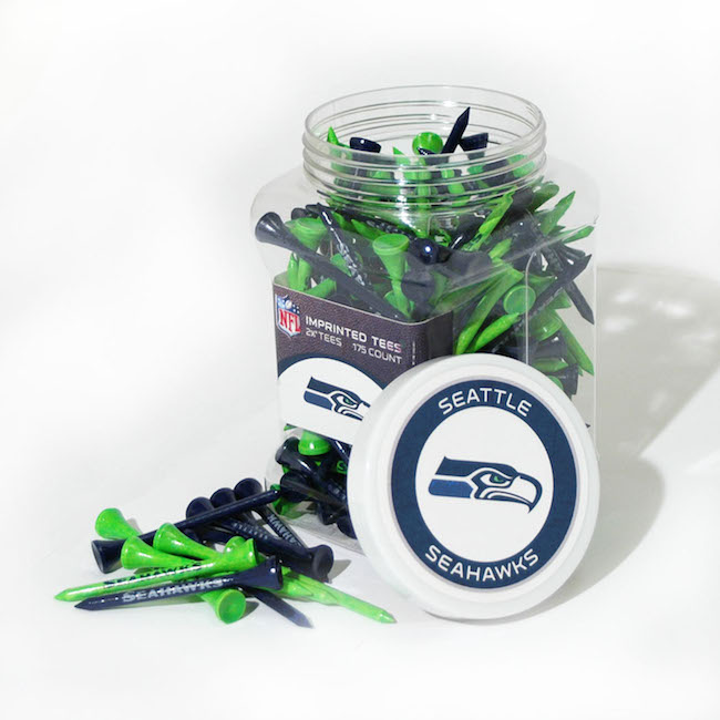 Seattle Seahawks 175 imprinted Tee Jar