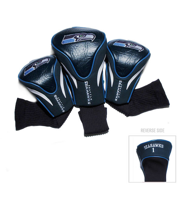 Seattle Seahawks 3 Pack Contour Headcovers
