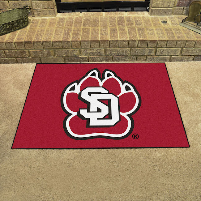 South Dakota Coyotes ALL STAR 34 x 45 Floor Mat