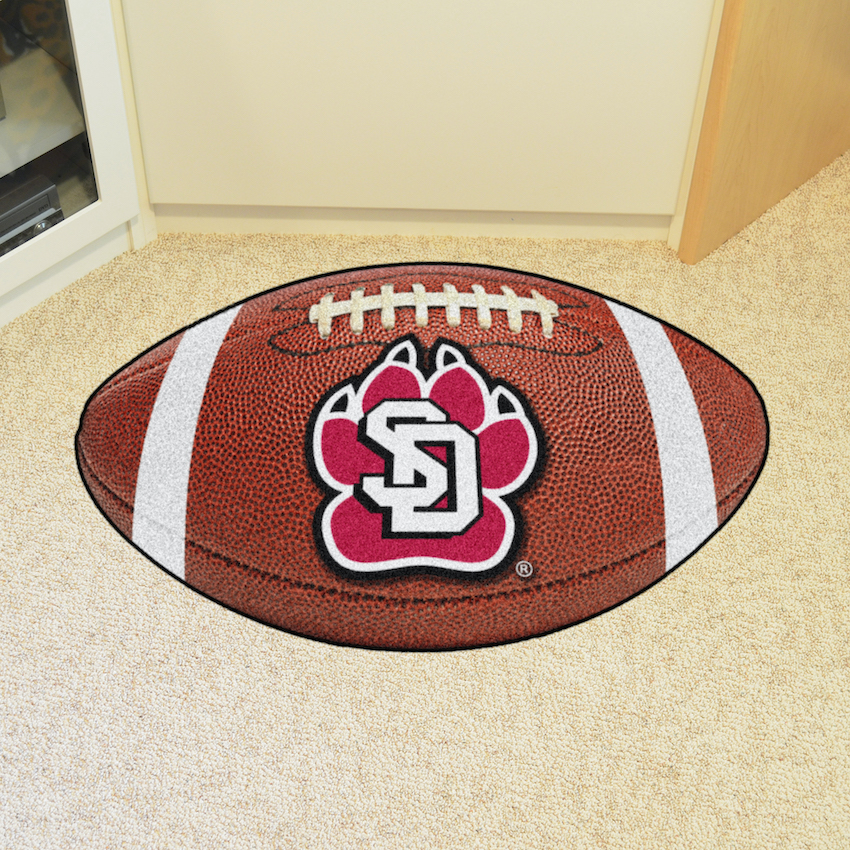 South Dakota Coyotes 22 x 35 FOOTBALL Mat