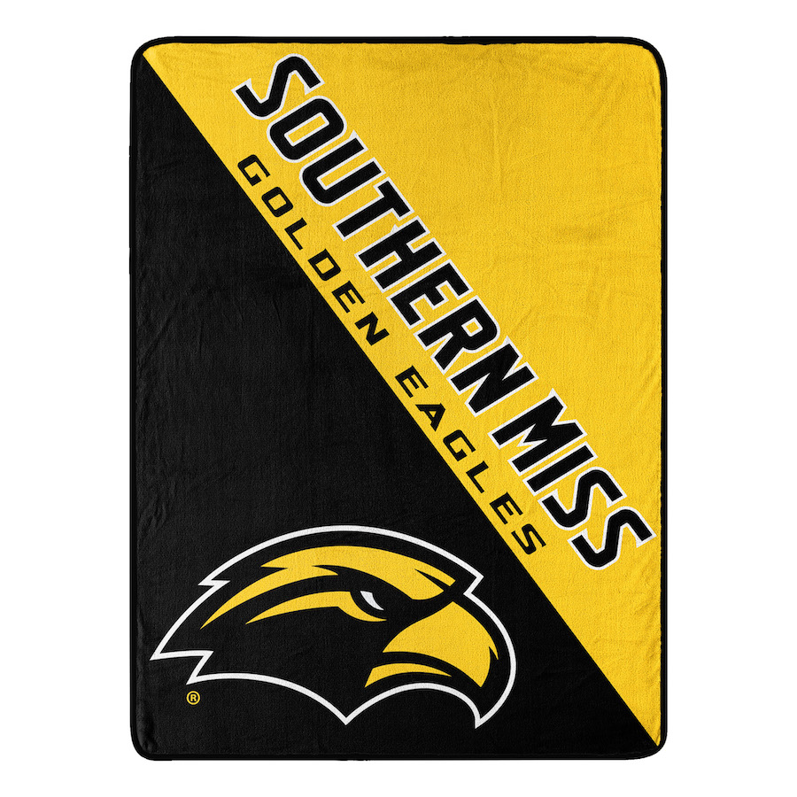 Southern Mississippi Golden Eagles Micro Raschel 50 x 60 Team Blanket