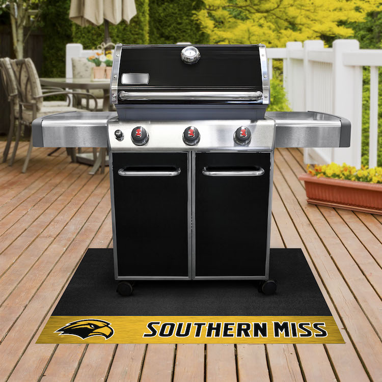 Southern Mississippi Golden Eagles NCAA Grill Mat