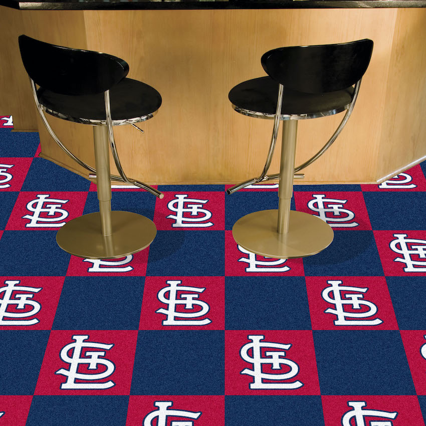 St. Louis Cardinals Carpet Tiles 18x18 in.