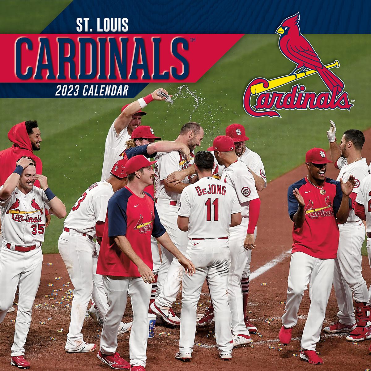 St Louis Cardinals 2018 Wall Calendar Buy At Khc Sports