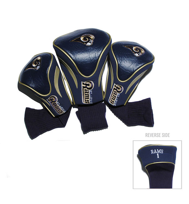 Los Angeles Rams 3 Pack Contour Headcovers