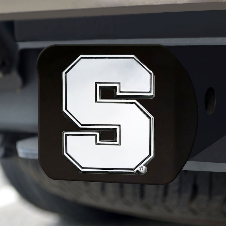 Syracuse Orange BLACK Trailer Hitch Cover