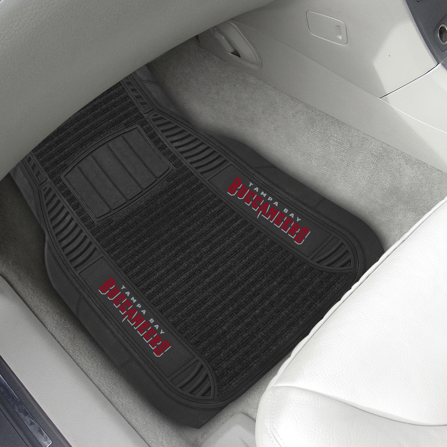 Tampa Bay Buccaneers Deluxe 20 x 27 Car Floor Mats