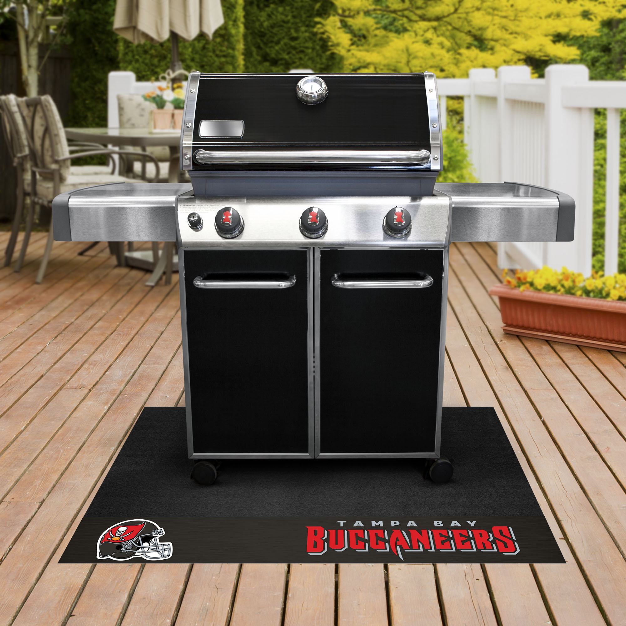 Tampa Bay Buccaneers NFL Grill Mat