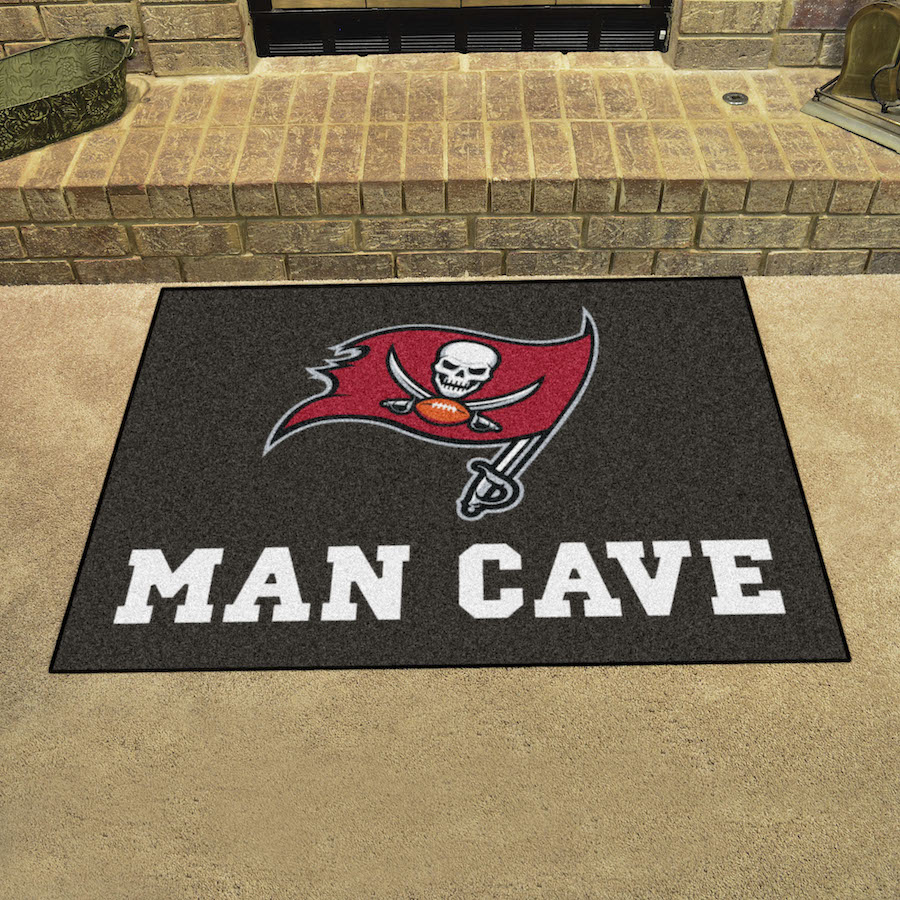 Tampa Bay Buccaneers ALL STAR 34 x 45 MAN CAVE Floor Mat