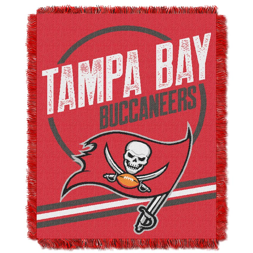 Tampa Bay Buccaneers Double Play Tapestry Blanket 48 x 60