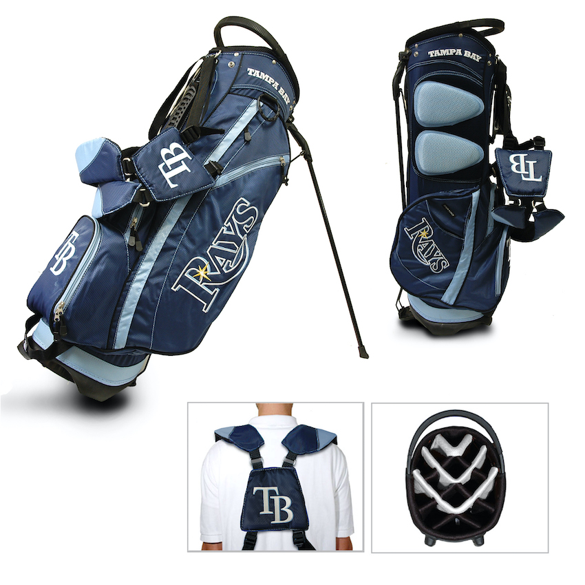 Tampa Bay Rays Fairway Carry Stand Golf Bag