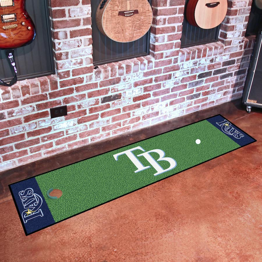 Tampa Bay Rays Putting Green Mat 18 x 72