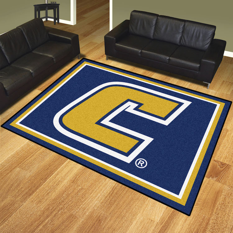 Tennessee Chattanooga Mocs Ultra Plush 8x10 Area Rug