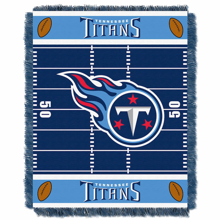 Tennessee Titans Woven Baby Blanket 36 x 48