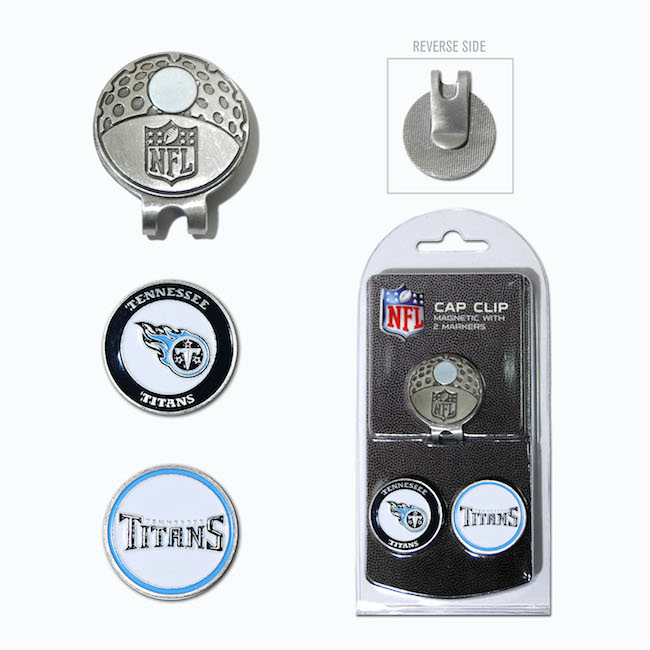 Tennessee Titans Hat Clip With 2 Ball Markers
