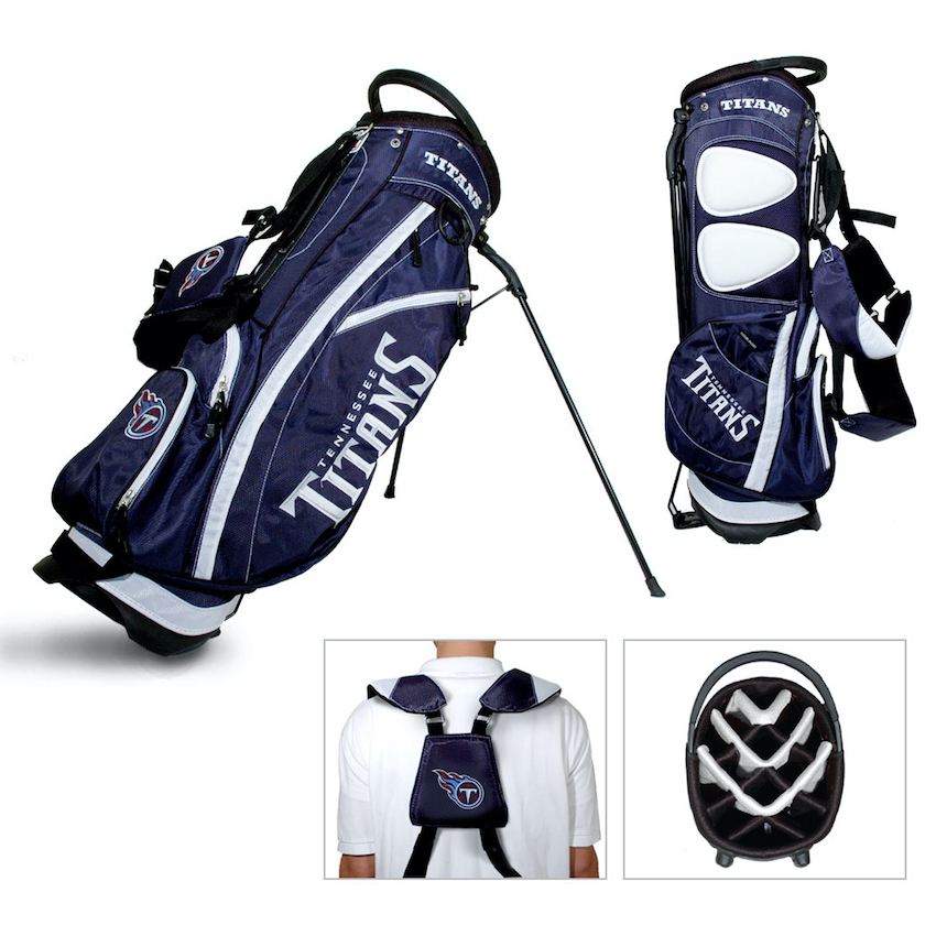 Tennessee Titans Fairway Carry Stand Golf Bag