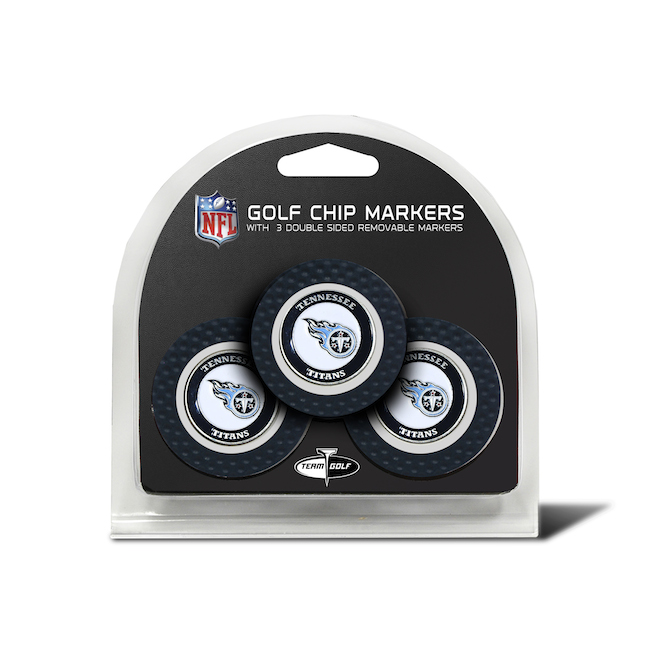 Tennessee Titans 3 Pack Golf Chips