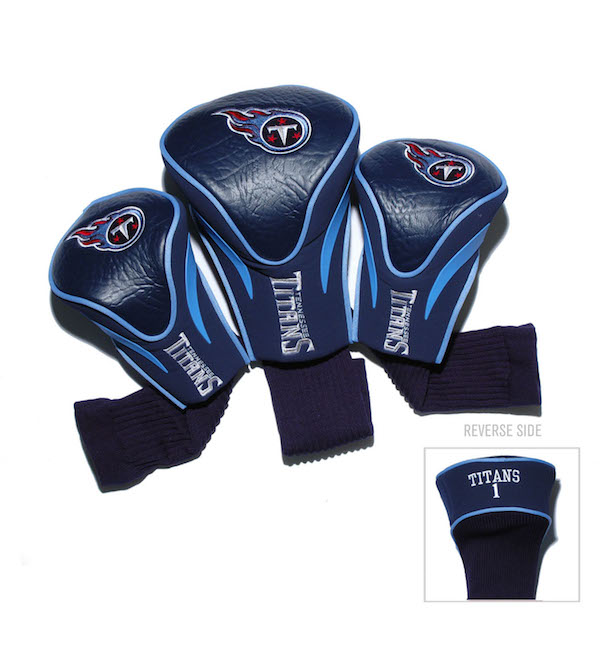 Tennessee Titans 3 Pack Contour Headcovers