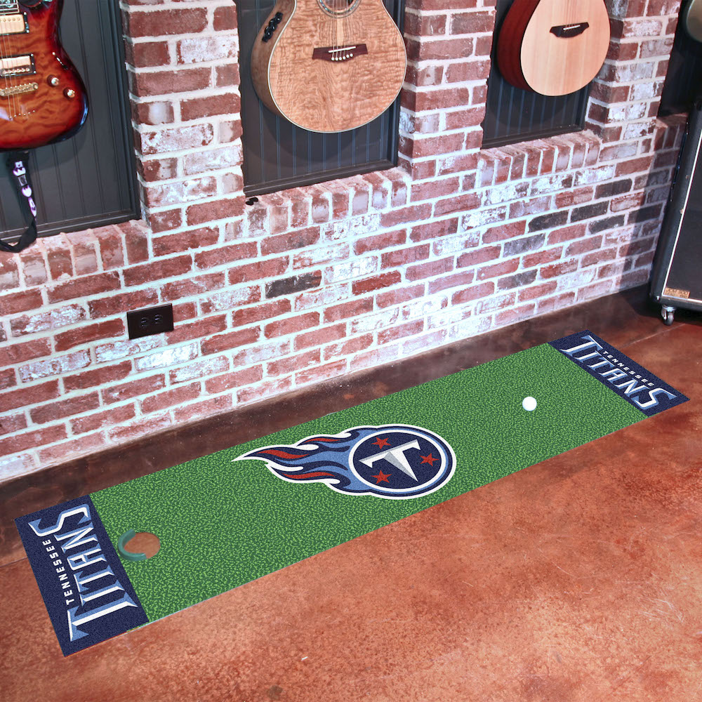 Tennessee Titans Putting Green Mat 18 x 72