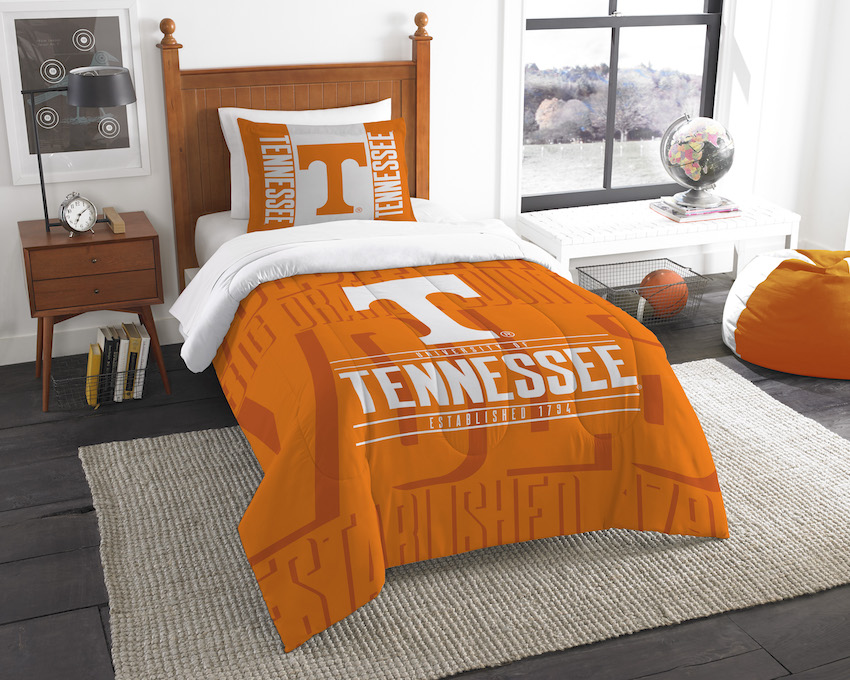 Tennessee Volunteers Twin Comforter Set with Sham