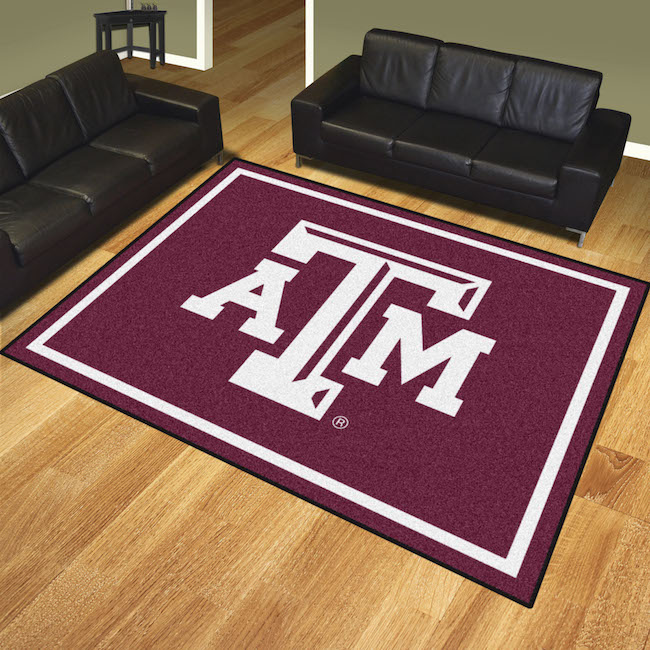 Texas A&M Aggies Ultra Plush 8x10 Area Rug