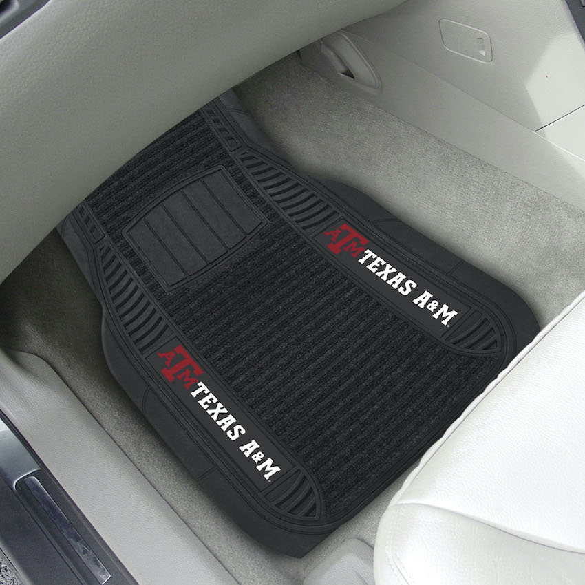 Texas A&M Aggies Deluxe 20 x 27 Car Floor Mats