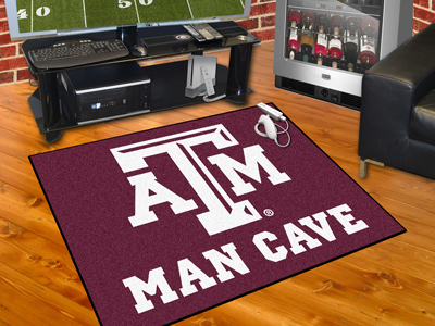 Texas A&M Aggies ALL STAR 34 x 45 MAN CAVE Floor Mat