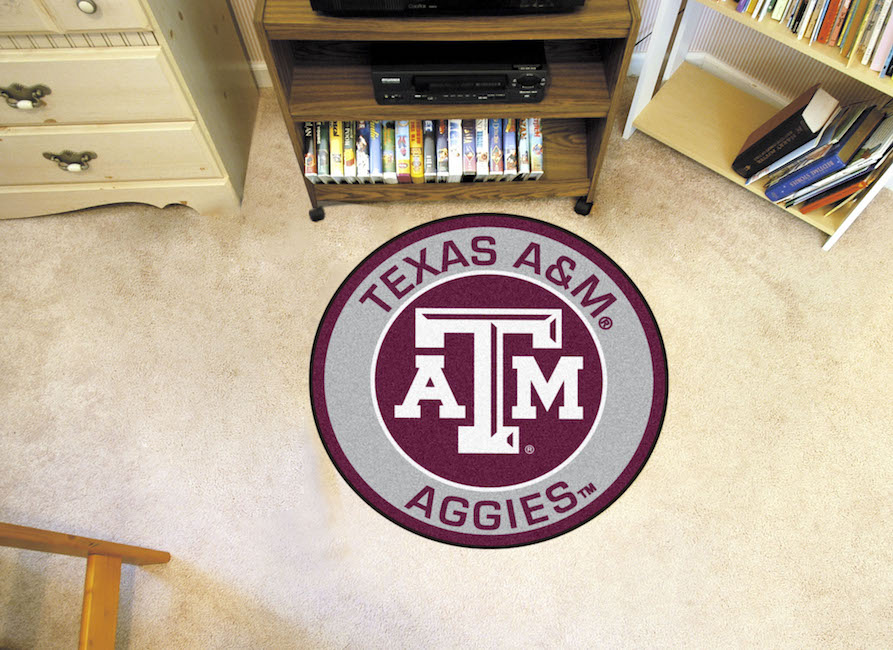 Texas A&M Aggies Roundel Mat
