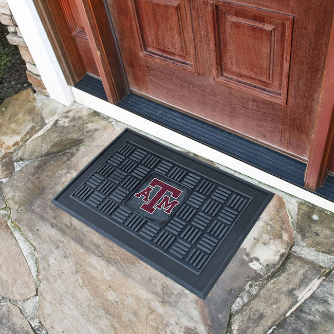 Texas A&M Aggies MEDALLION Vinyl Door Mat