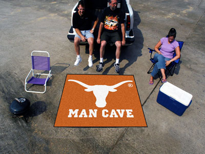 Texas Longhorns MAN CAVE TAILGATER 60 x 72 Rug