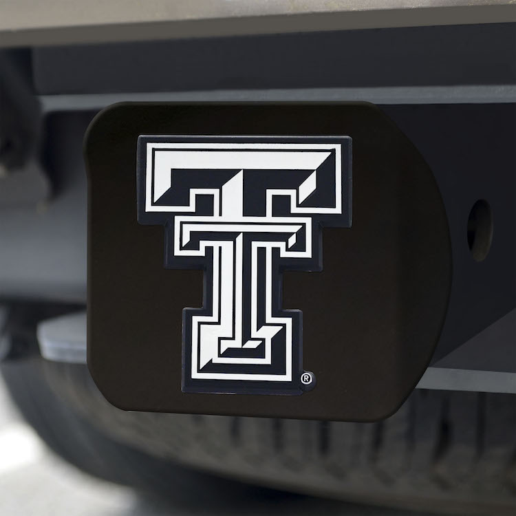 Texas Tech Red Raiders BLACK Trailer Hitch Cover