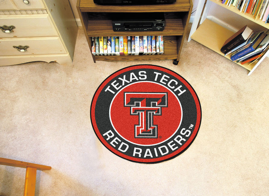 Texas Tech Red Raiders Roundel Mat