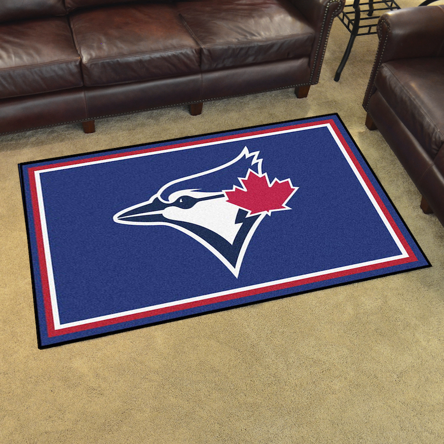 Toronto Blue Jays 4x6 Area Rug