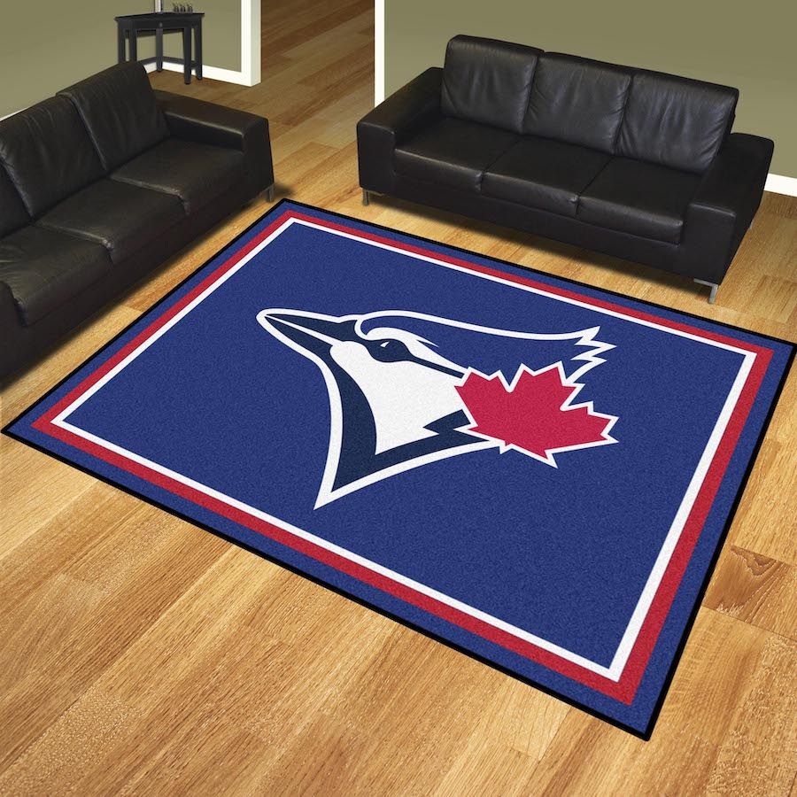 Toronto Blue Jays Ultra Plush 8x10 Area Rug