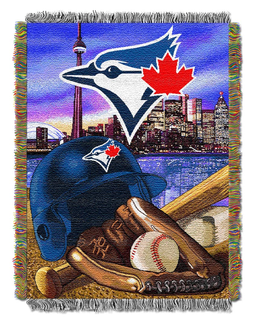 Toronto Blue Jays Home Field Advantage Series Tapestry Blanket 48 x 60