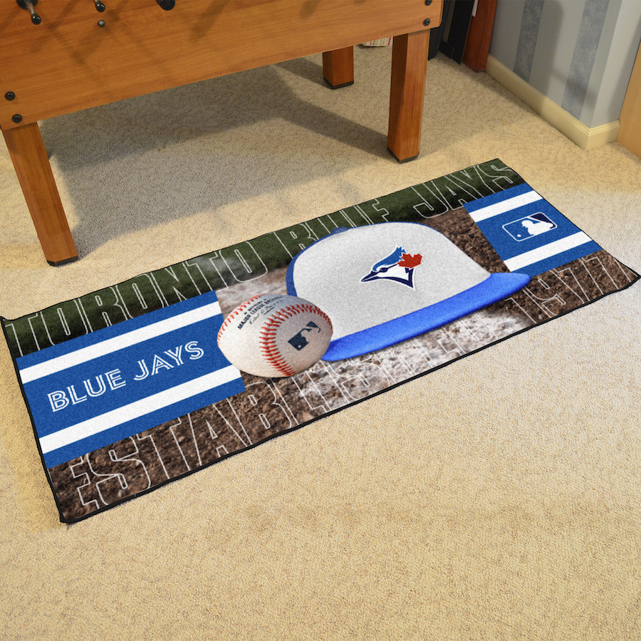 Toronto Blue Jays 30 x 72 Baseball Carpet Runner