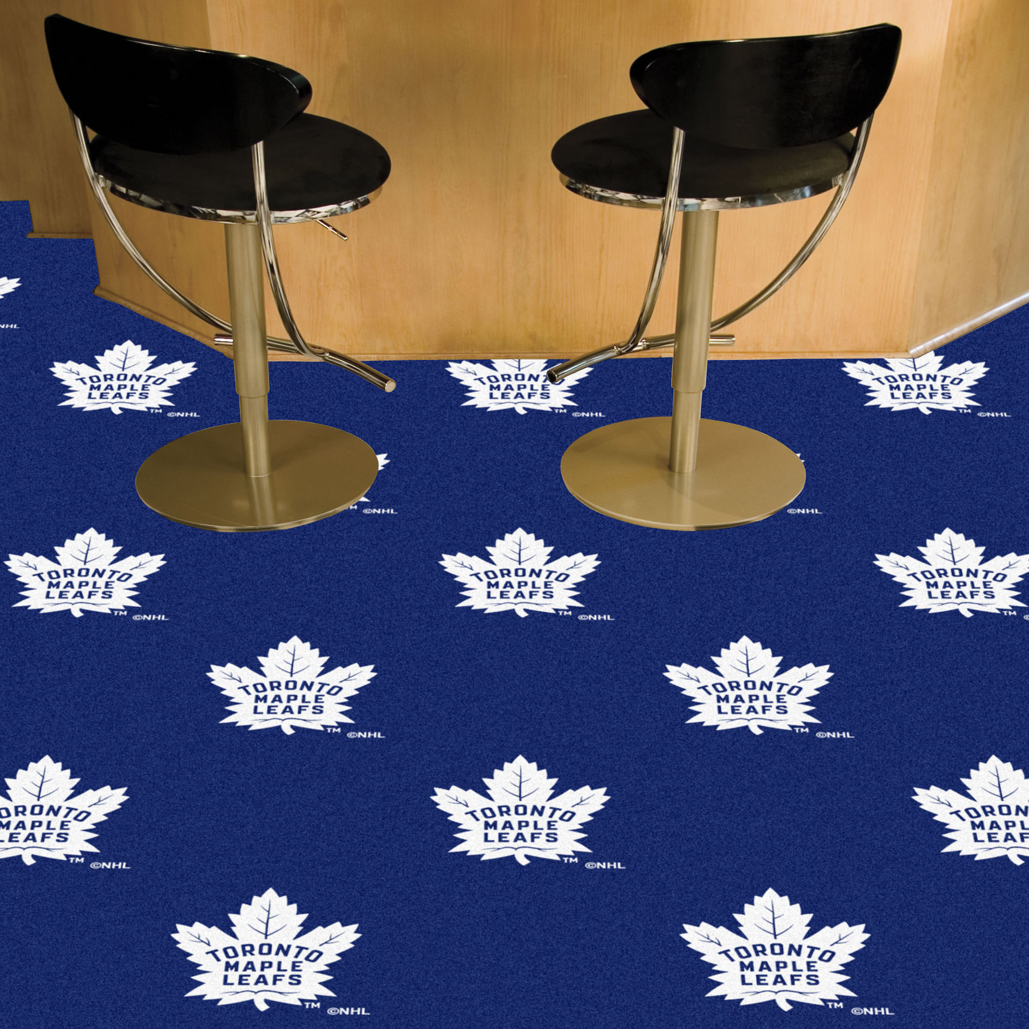 Toronto Maple Leafs Carpet Tiles 18x18 in.