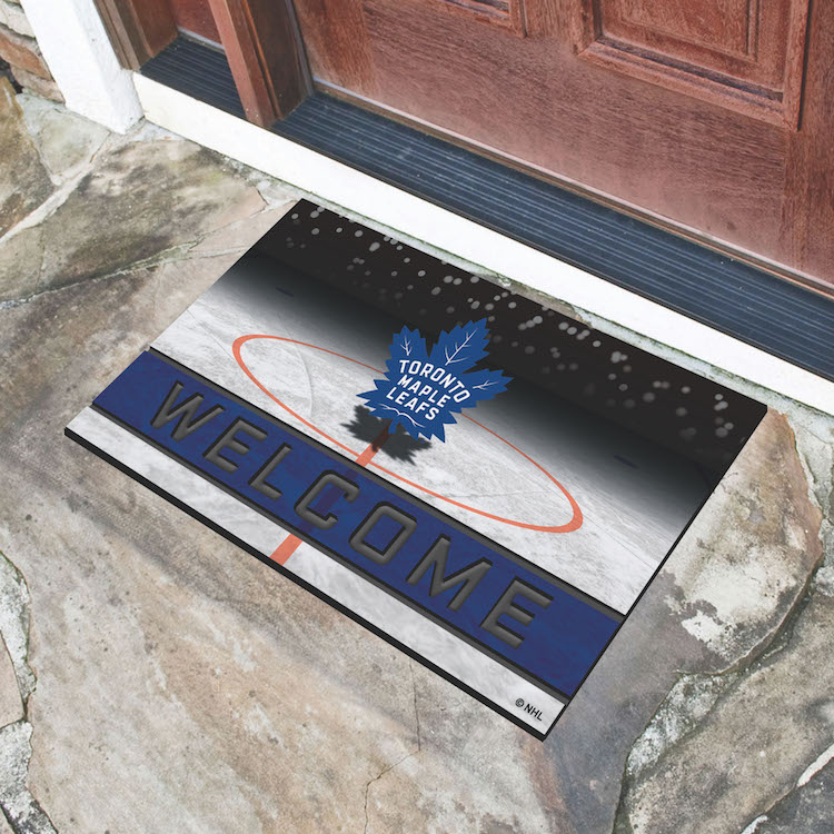 Toronto Maple Leafs Recycled Crumb Rubber Door Mat