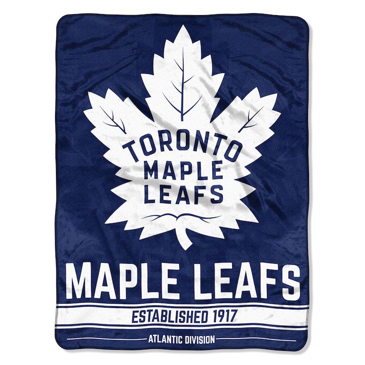 Toronto Maple Leafs ICE DASH Micro Raschel 50 x 60 Team ...