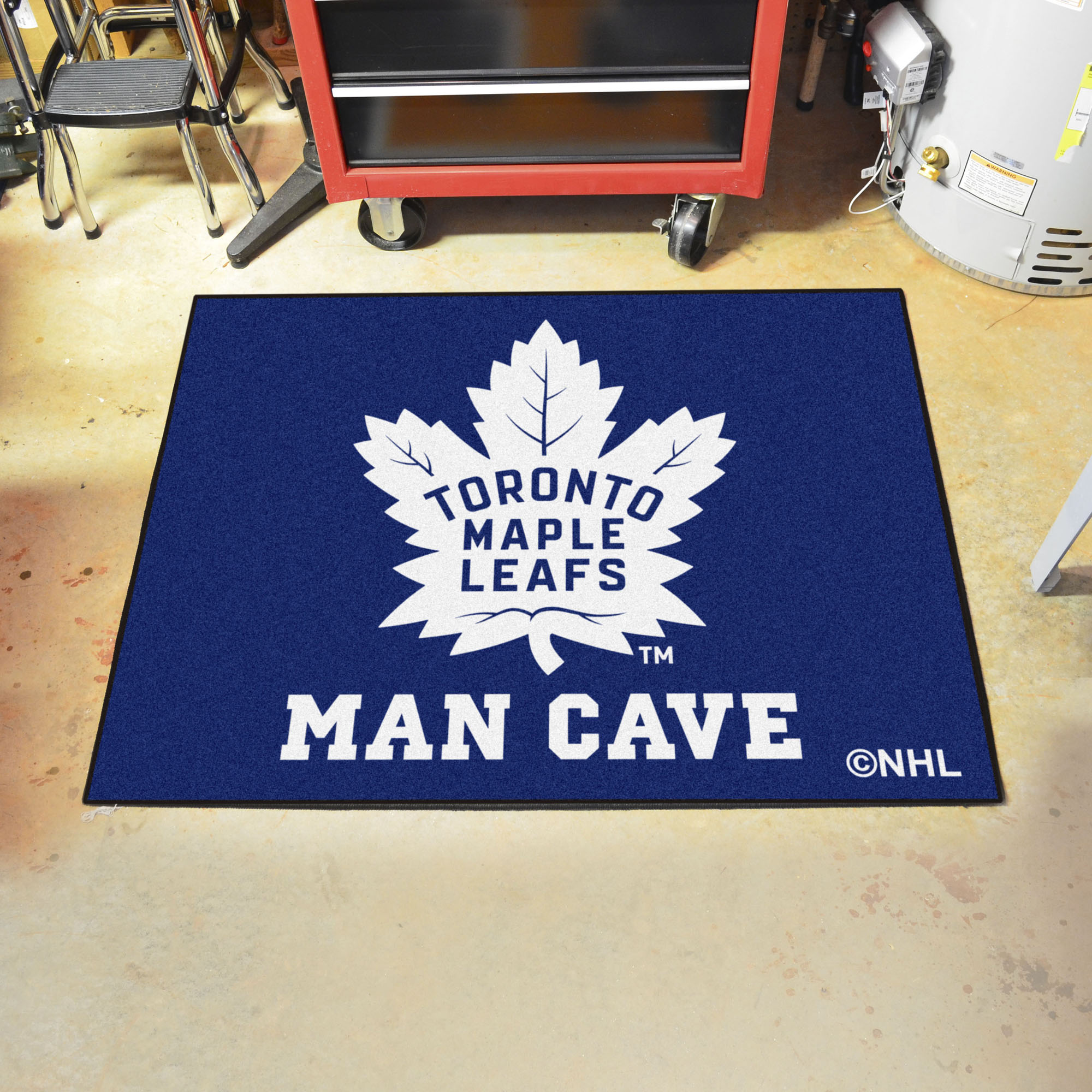 Toronto Maple Leafs ALL STAR 34 x 45 MAN CAVE Floor Mat