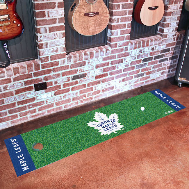 Toronto Maple Leafs Putting Green Mat 18 x 72