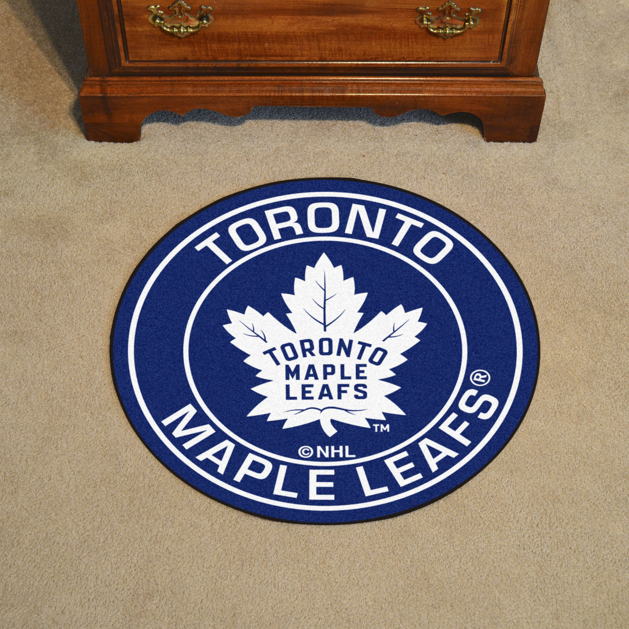 Toronto Maple Leafs Roundel Mat