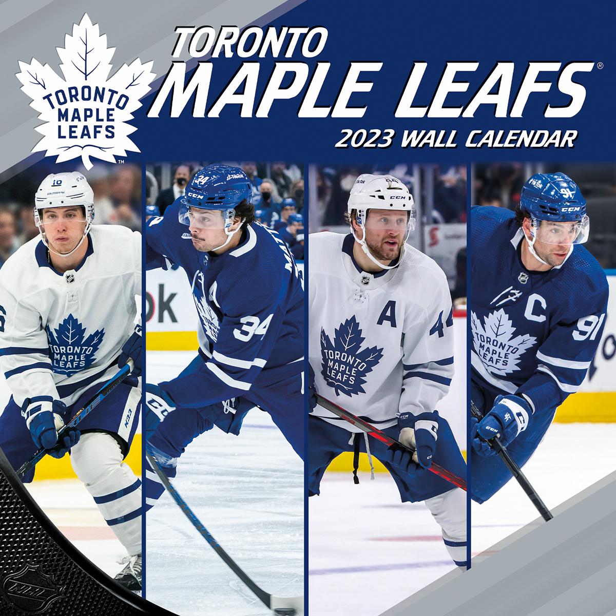 Toronto Maple Leafs 2018 Mini Wall Calendar Buy At Khc