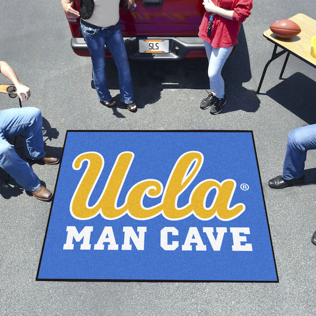 UCLA Bruins MAN CAVE TAILGATER 60 x 72 Rug