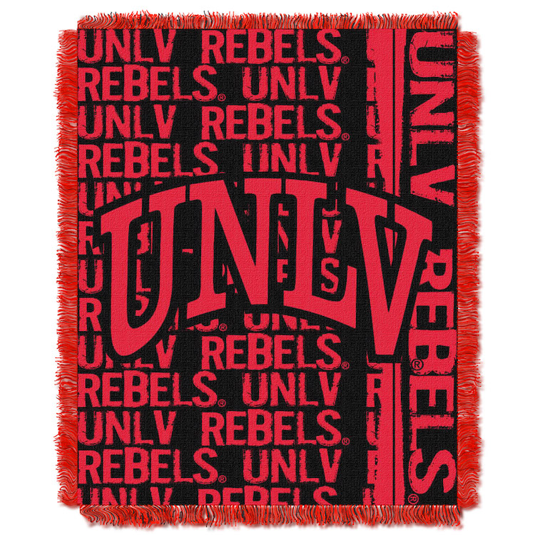 UNLV Rebels Double Play Tapestry Blanket 48 x 60