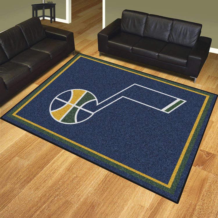 Utah Jazz Ultra Plush 8x10 Area Rug