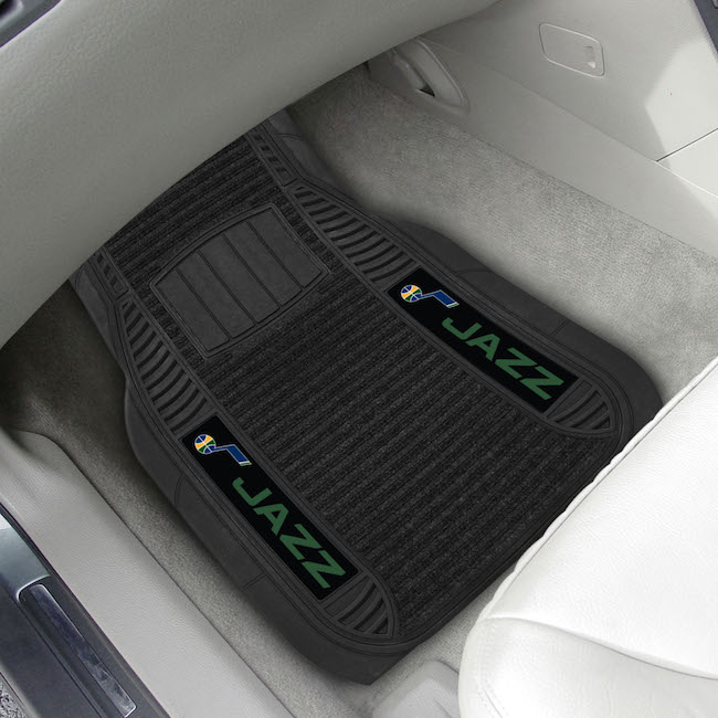 Utah Jazz Deluxe 20 x 27 Car Floor Mats