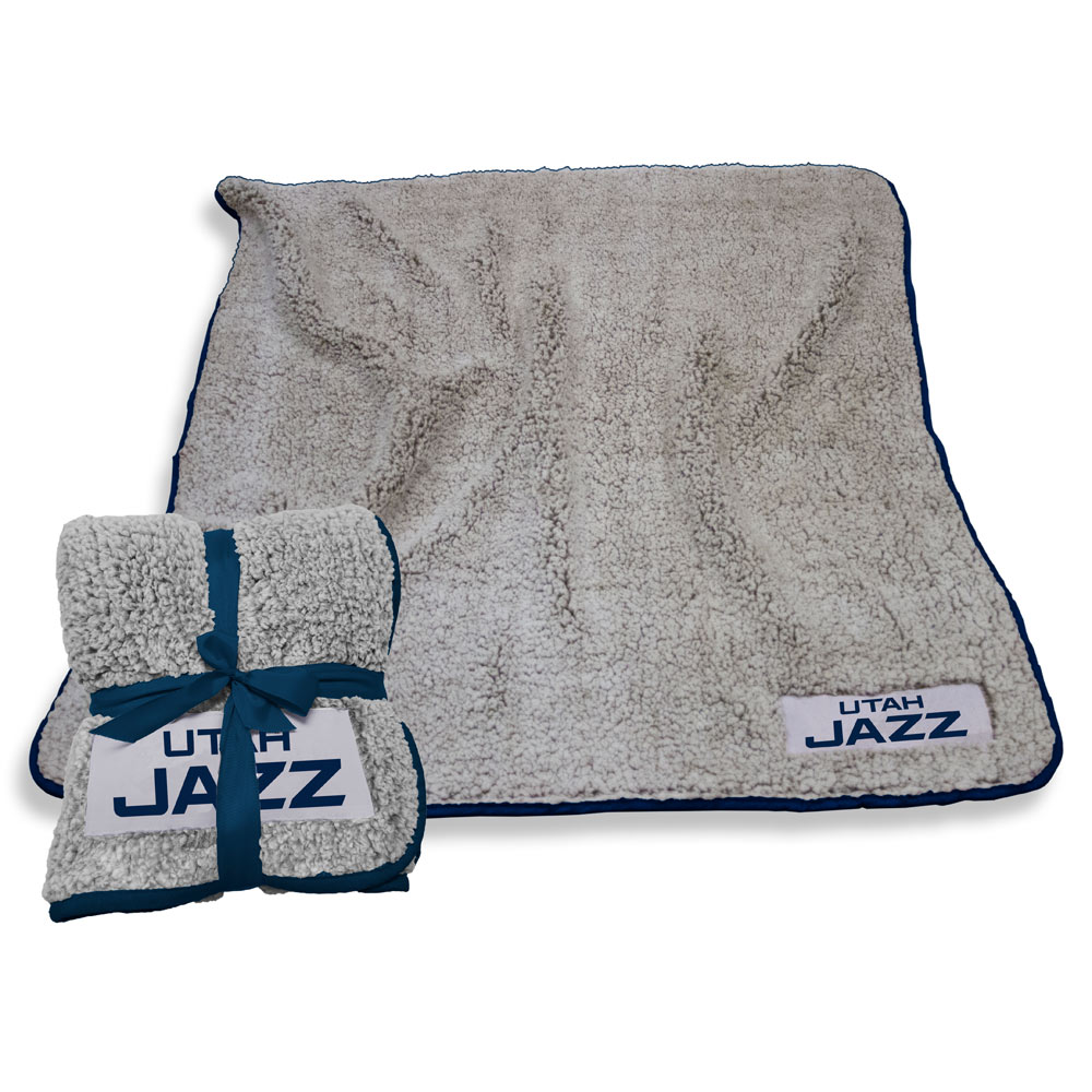 Utah Jazz Frosty Throw Blanket